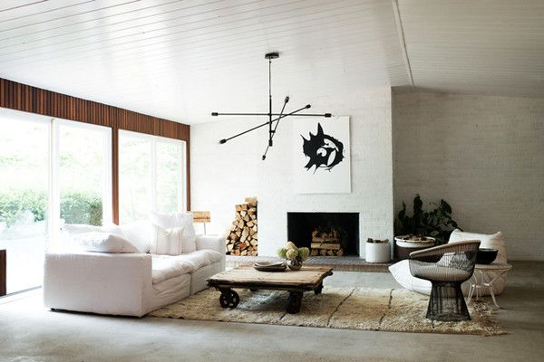 soften up decorating ideas mid century modern living room mid rh pinterest com