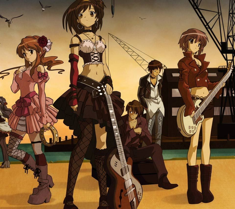 ANIME japanese girl Anime,japanese anime,band,girl,boy
