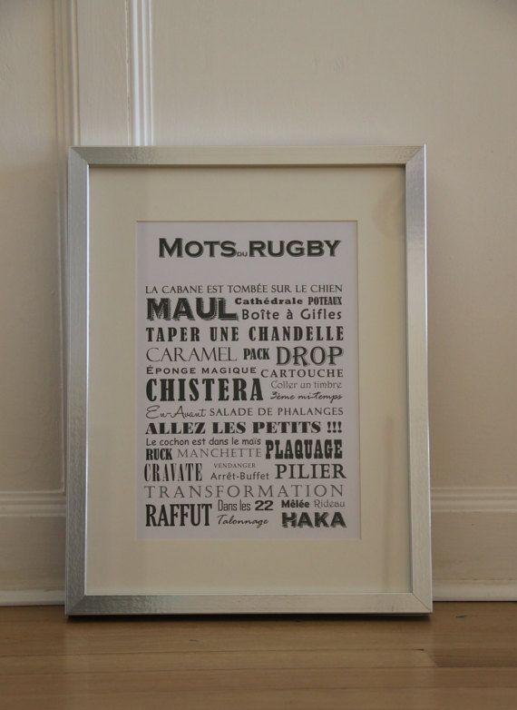 Les Mots Du Rugby Rugby Eponge Magique Deco Chambre Garcon