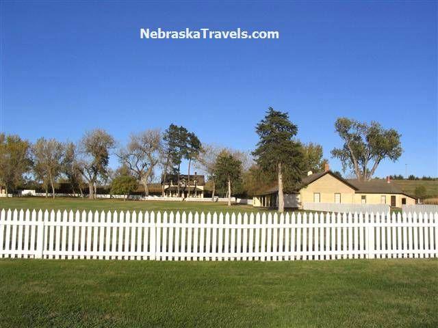 Burwell Nebraska Map.Fort Hartsuff State Historical Park Buildings On Edge Of Nebraska