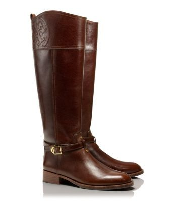 8c9ec5b9d0a0 TORY BURCH MARLENE RIDING BOOT - ALMOND