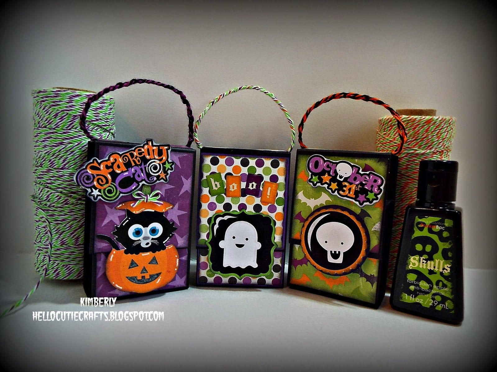 Spooky Hand Sanitizer Holders Featuring Lime Grapesicle Trendy
