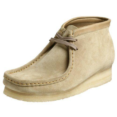 Clarks Originals Men's Wallabee Boot, Sand Suede, 12 M - http://