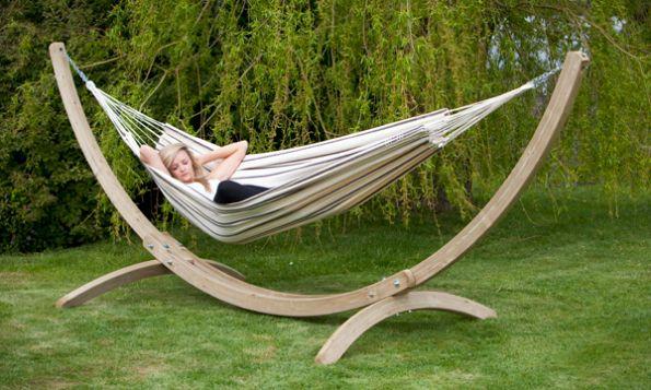 hammock with stand from hammockexpert furniture pinterest hamac support meuble exterieur. Black Bedroom Furniture Sets. Home Design Ideas