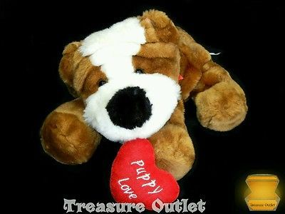 Best Made Toys Stuffed Plush Bulldog Puppy Dog With Heart