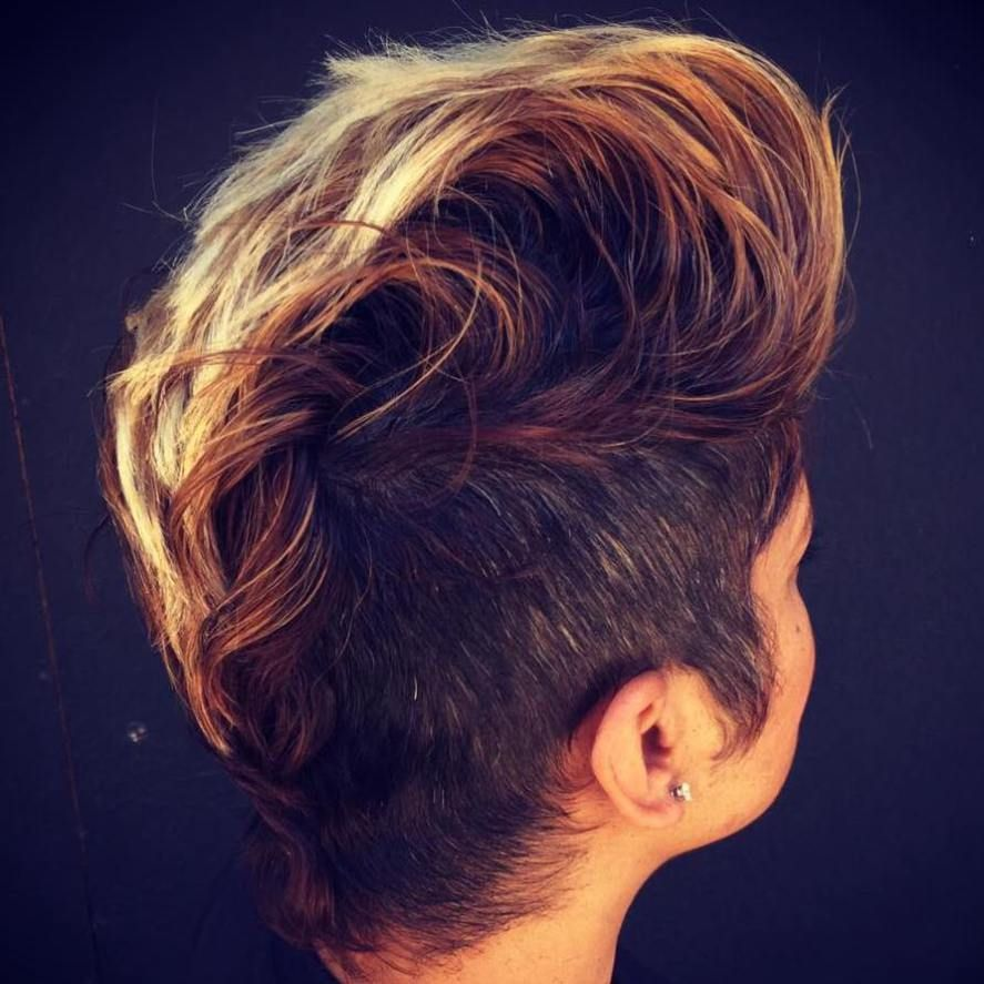 most gorgeous mohawk hairstyles of nowadays side undercut
