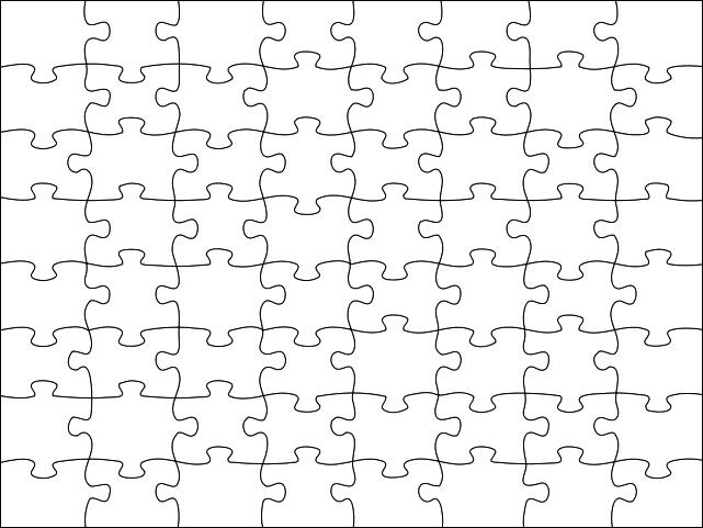 Puzzle Piece Pattern Puzzle Piece Template Puzzle Piece Crafts Puzzle Pieces