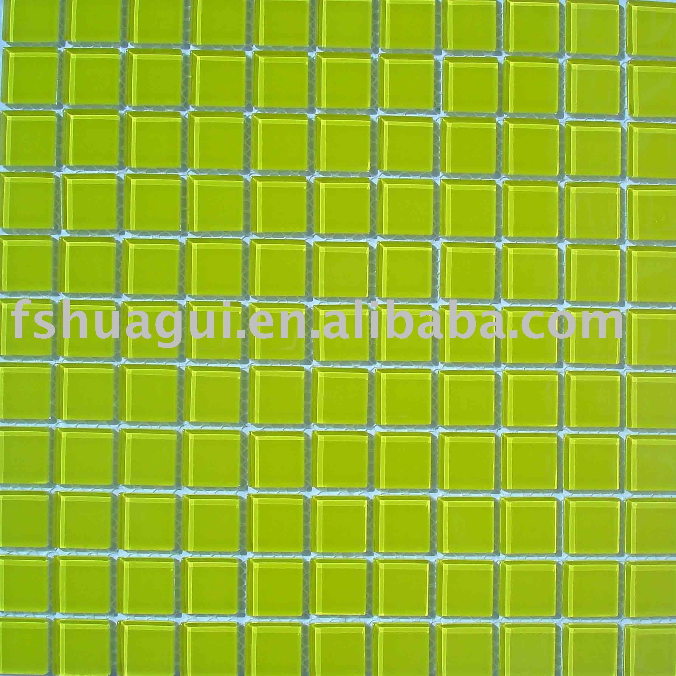 Green bathroom wall tiles verde mosaico di vetro muro stanza da bagno piastrelle di ceramica - Mosaico vetro bagno ...