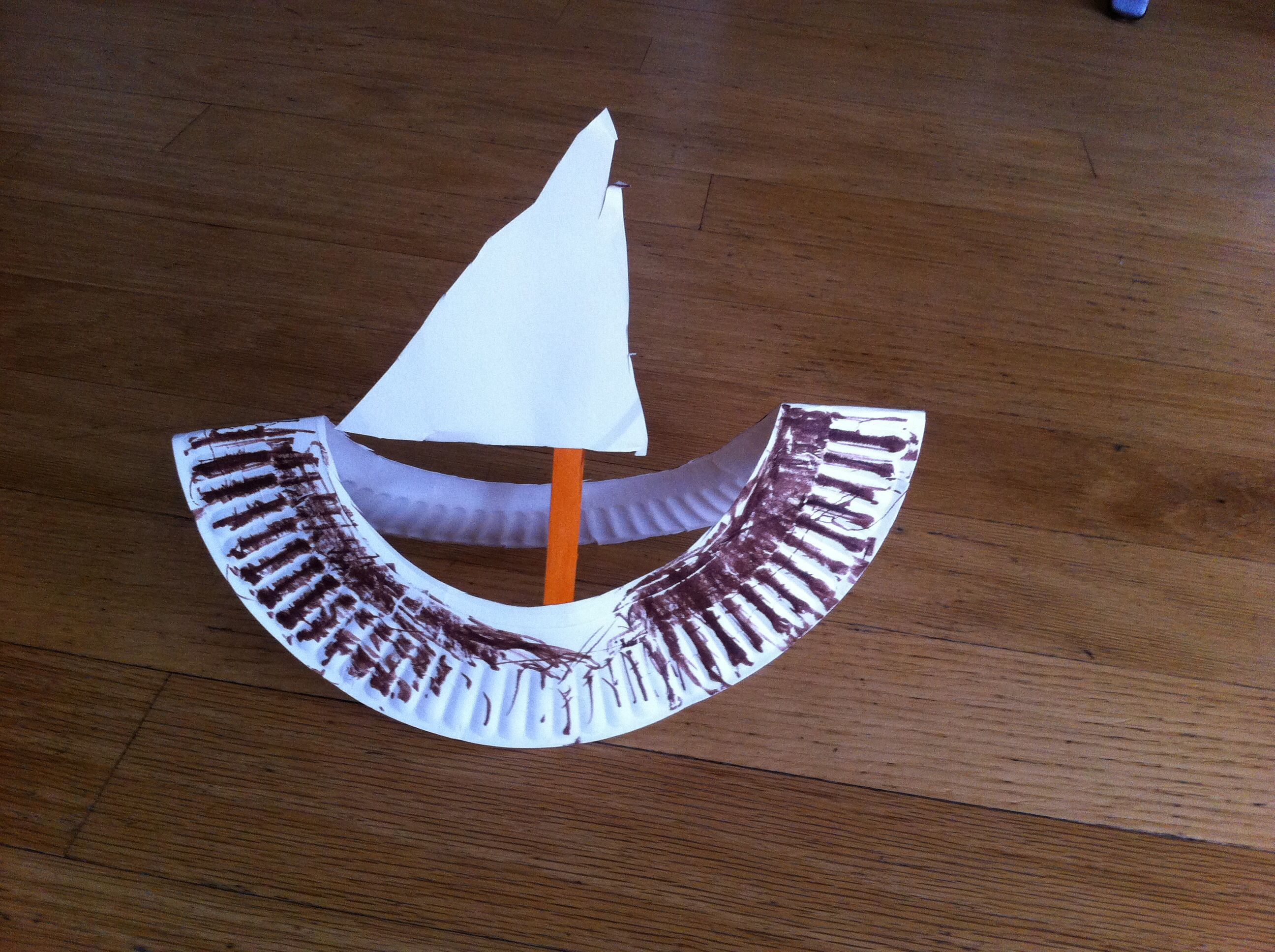 Paper Plate Mayflower With Images