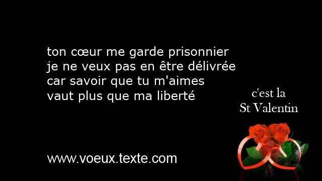 Voeux Amoureux Saint Valentin 2015 Poèmes Damour St