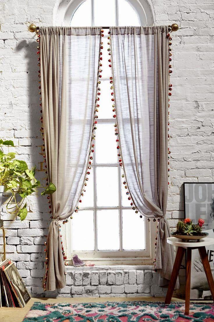 El Rincn Vintage de Karmela Hoy voy a la bsqueda de la cortina perfecta  Casa  Cortinas de lino Cortinas para habitacion y Cortinas