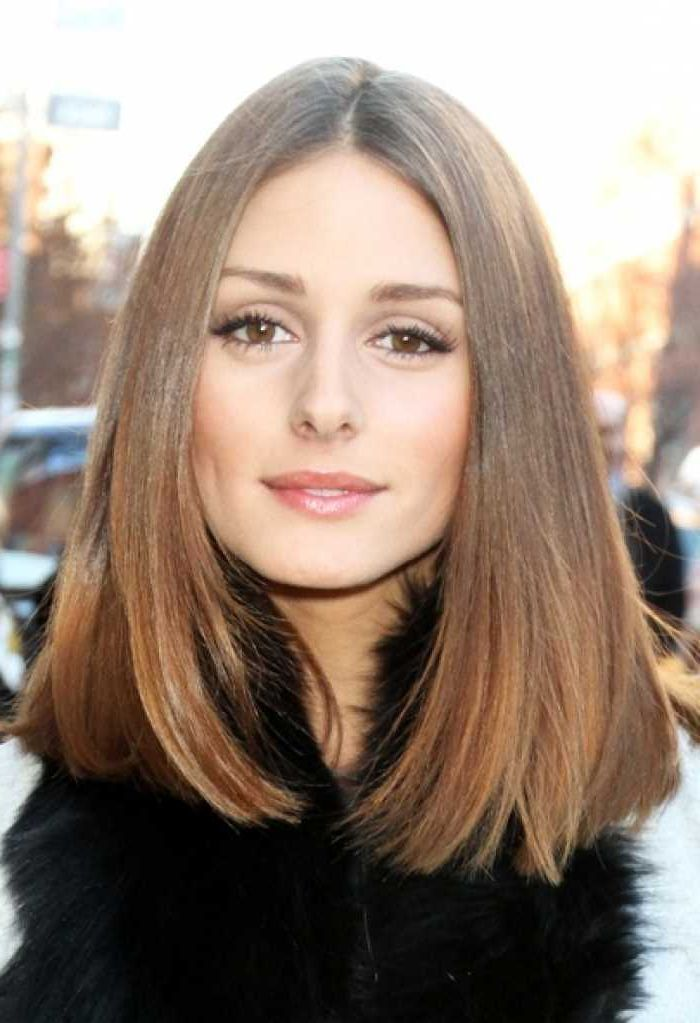 Celebrity Haircuts Long trendy simple hairstyle
