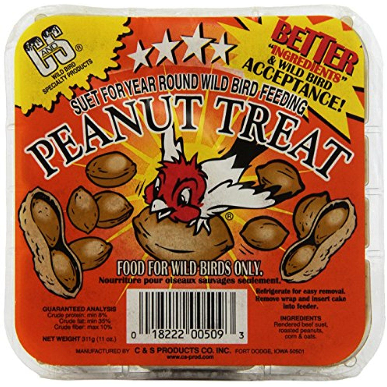 C & S Products Peanut Treat, 24Piece You could find