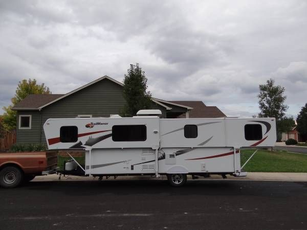 2011 Trailmanor 3124 Kb Tows At 24 Ft And Opens To 31 Ft Weighs