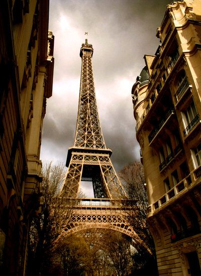 Eiffel tower, every view is great...