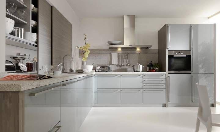 l k che hochglanzoptik home beeck k chen k chen. Black Bedroom Furniture Sets. Home Design Ideas
