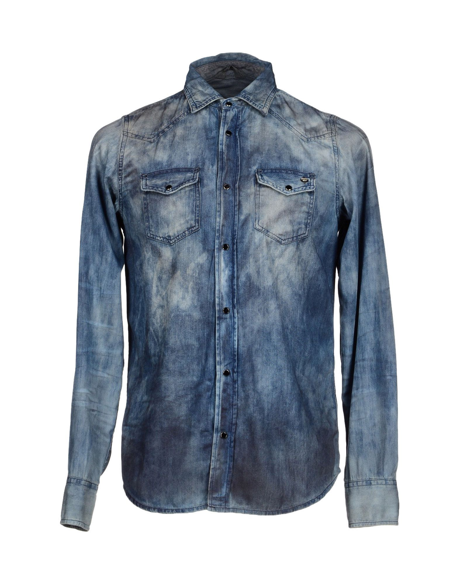c3c2cd5e6b4 Diesel Denim Shirt - Men Diesel Denim Shirts online on YOOX United Kingdom