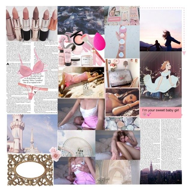 """""""So I don't wanna be one of the boys, one of your guys, just give me a chance to prove to you tonight, that I just wanna be one of the girls, pretty in pearls and not one of the boys """" by selenurrmauhrie ❤ liked on Polyvore featuring La Perla, Trish McEvoy, MAC Cosmetics, Herbivore, New Look, beautyblender, philosophy and Stila"""