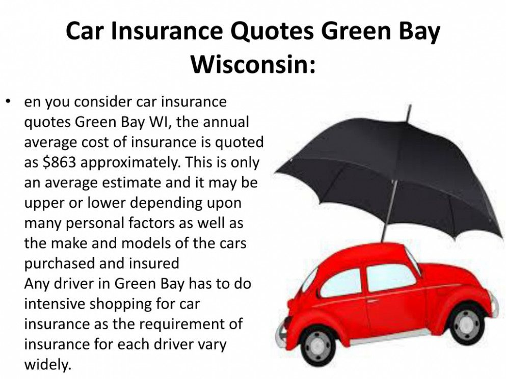 Why Is Car Insurance Quotes Wisconsin Considered Underrated Car