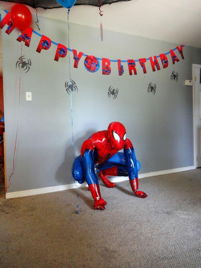 Spider-Man Airwalker balloon. Awesome Spidey life-size foil ...