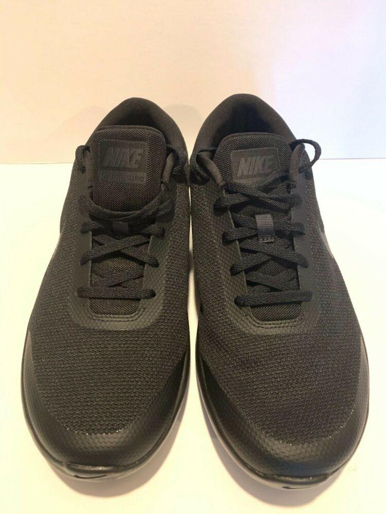 quality design d49ab a42ec Nike Flex Experience RN 7 4E mens Running Shoes All black Retail  88 AA7405-