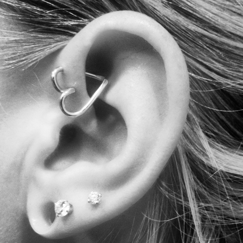 Heart Earring For My Forward Helix Forward Helix Earrings Helix