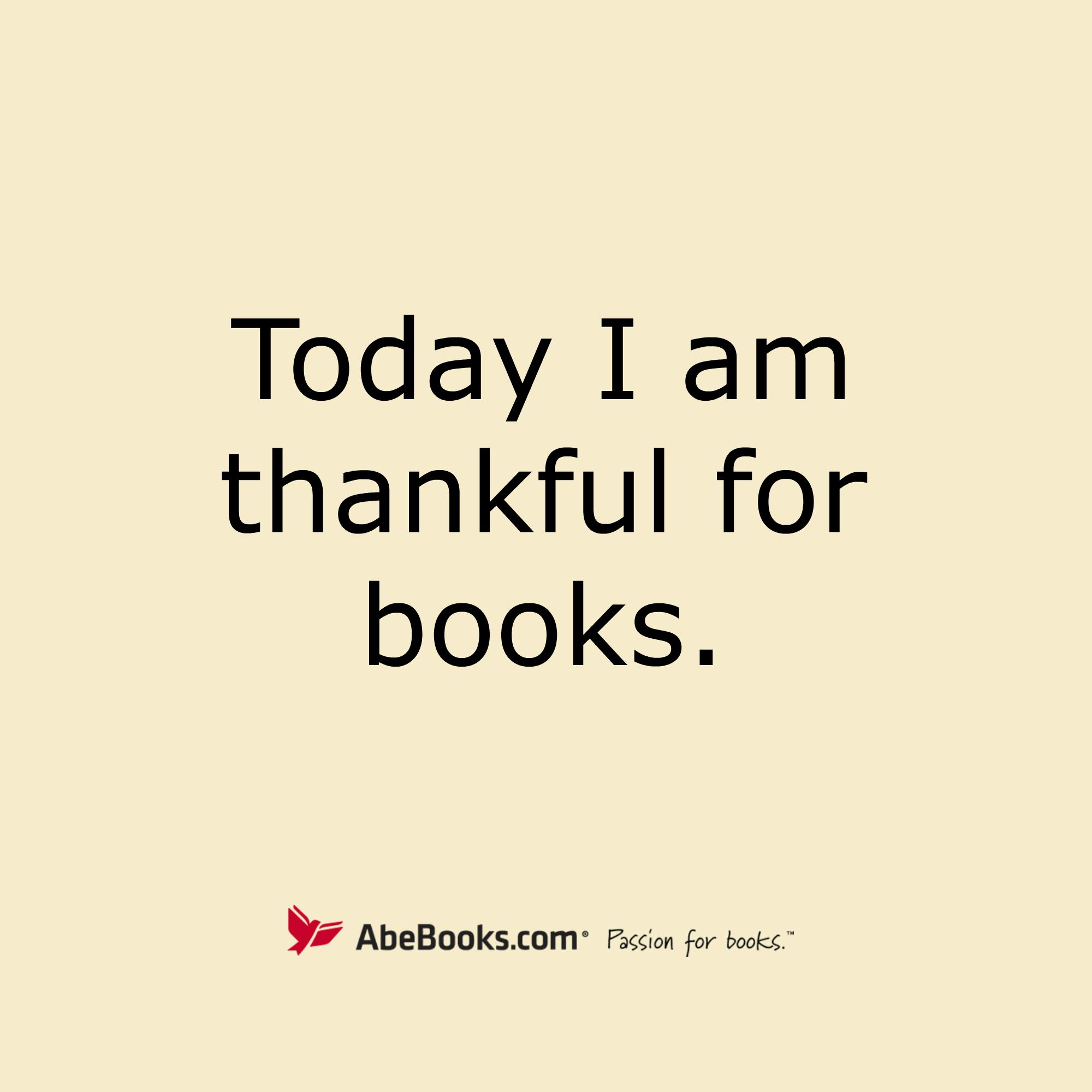 Today And Every Day Happy Thanksgiving, Book Lovers