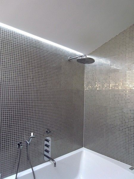 in shower lighting rain 4m ip65 waterproof led tape kit cool whitewarm white think this would be the simplest product to house underneath shelving white in 2018