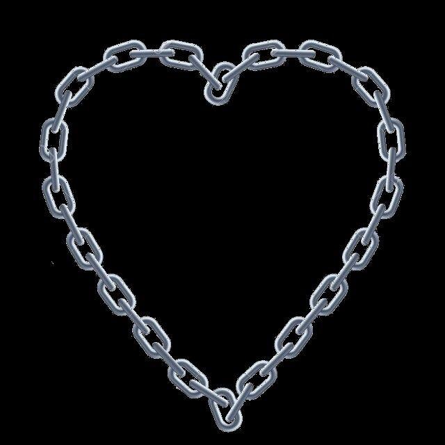Chain Link Heart Grunge Aesthetic Aesthetic Grunge Black Aesthetic