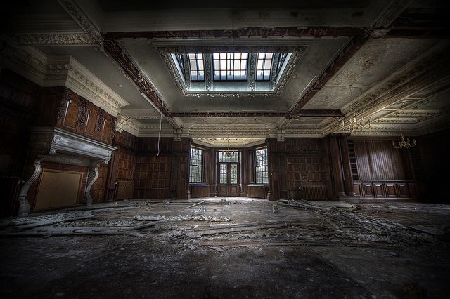 abandoned orphanage by andre govia., via Flickr