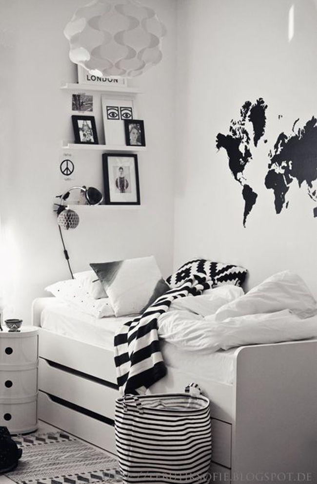 Un objeto de deseo estilo escandinavo shelvs en 2019 - Decoracion habitacion individual ...