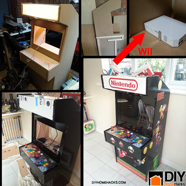 Home Design Ideas Game: DIY Nintendo Wii Arcade Machine