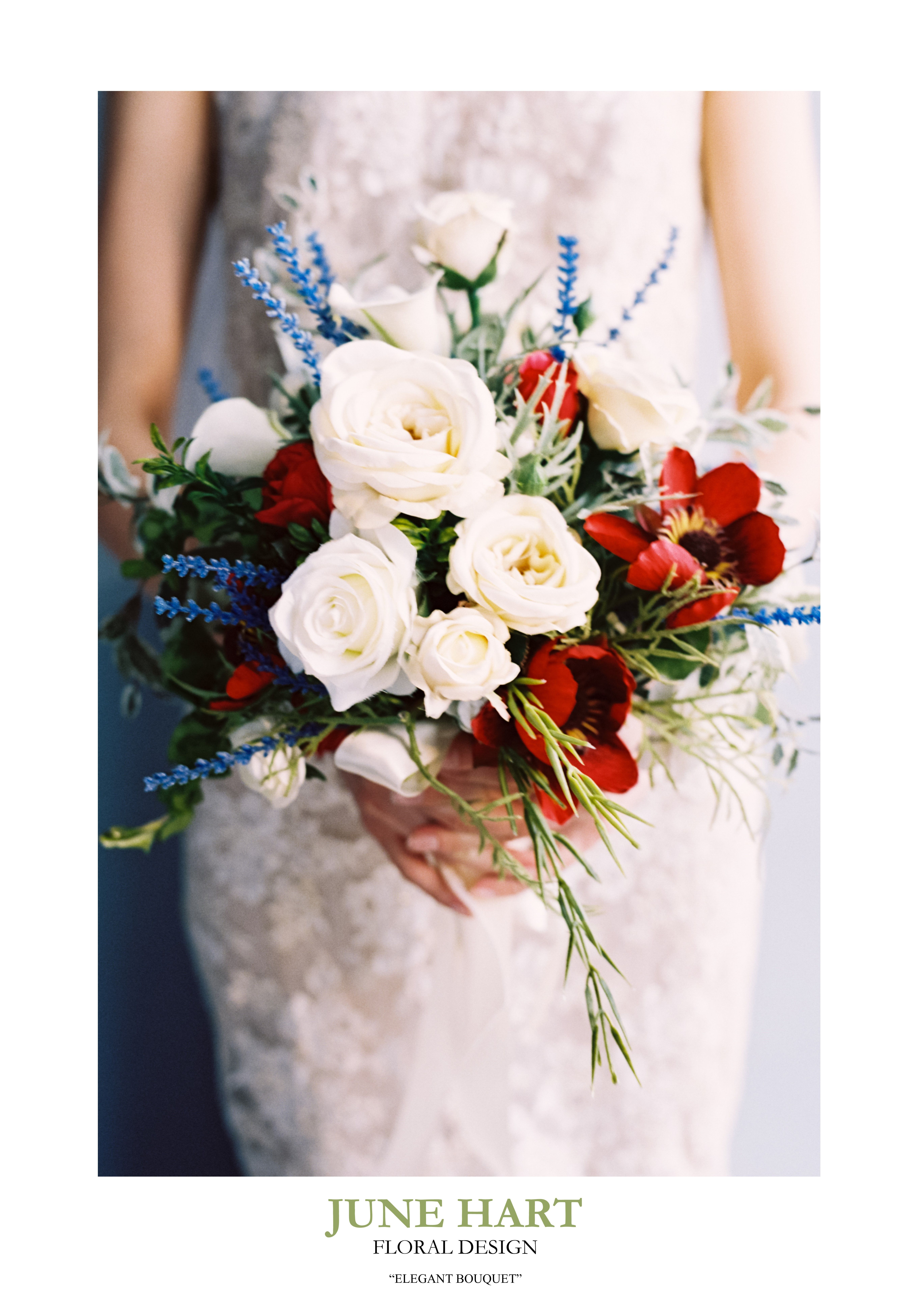 The Elegant Bouquet Is A Vintage Inspired Arrangement Of High