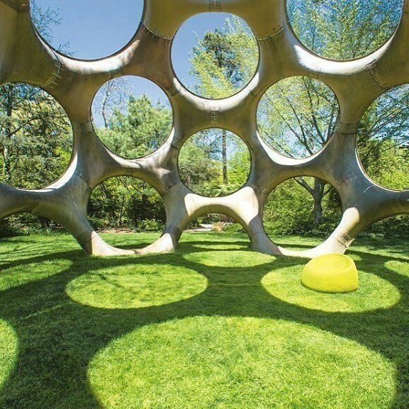 A House In The Park Circles Open Design Landscape Architecture Architecture Plan Architecture