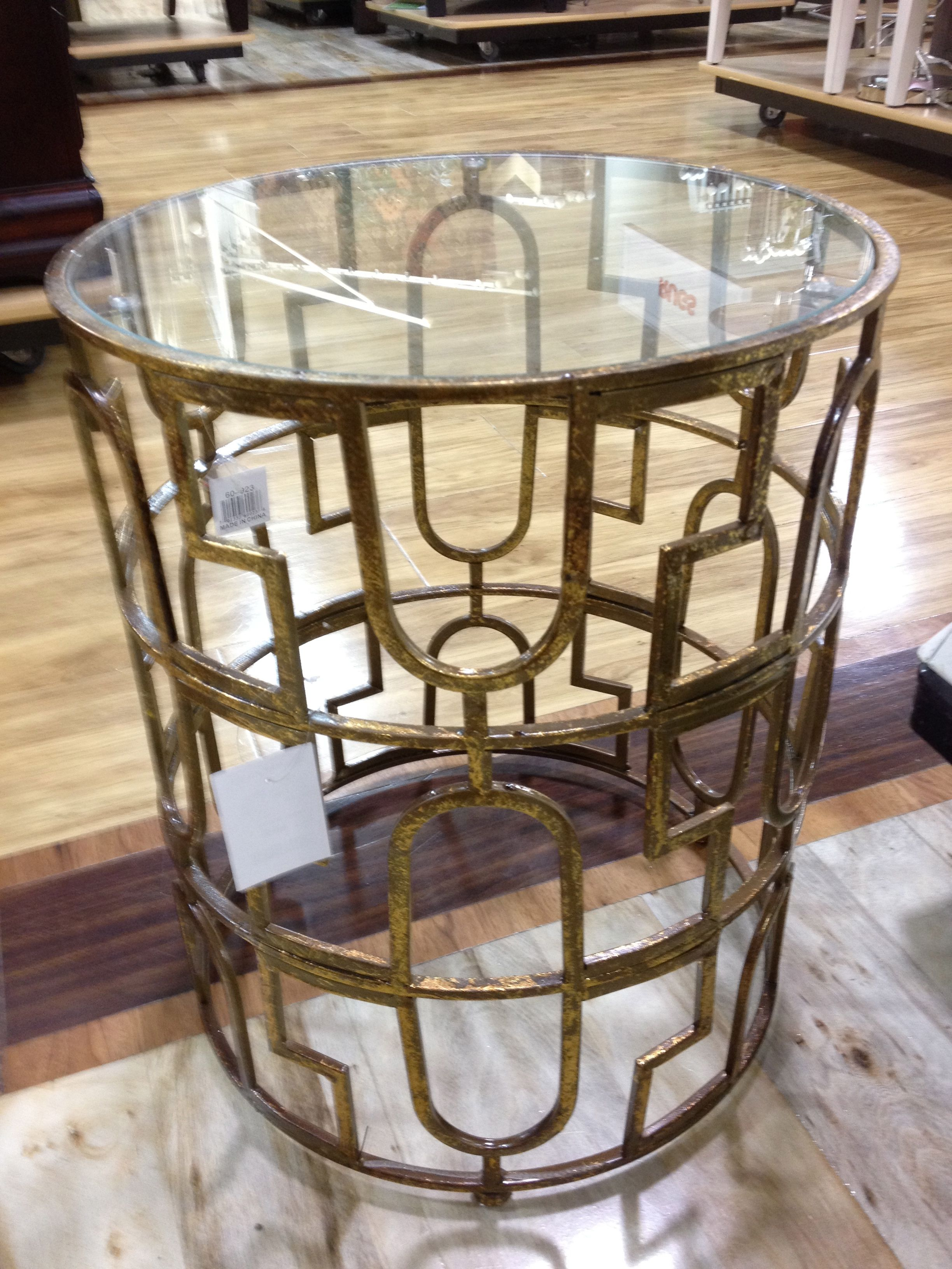 Gold Metal Table (Home Goods)
