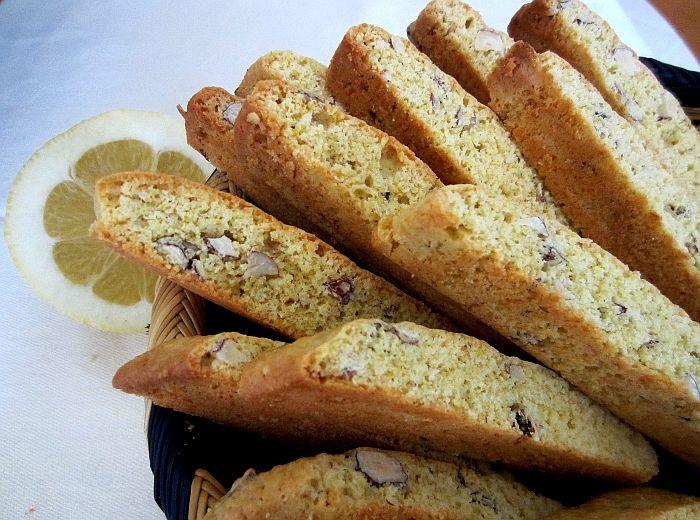Receita de Biscotti de Avelã