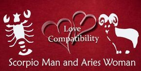 Aries man scorpio woman love compatibility