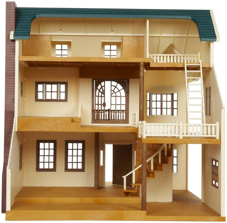 Maison de Village De Luxe - Sylvanian Families (Europe) | Maisons de village, Maison sylvanian ...
