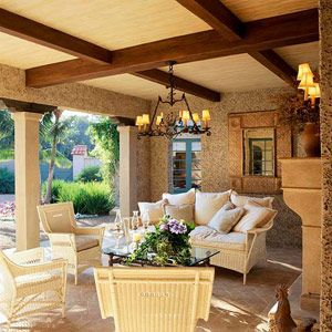 decoração de ambientes de exterior
