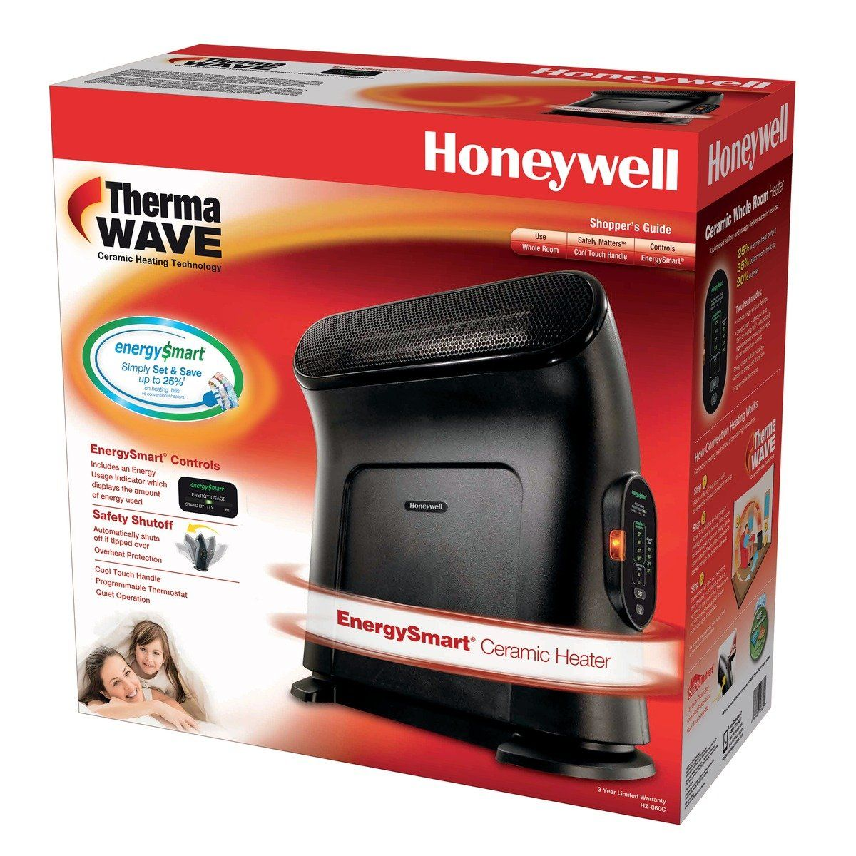 Honeywell Energysmart Thermawave Ceramic Heater Hz860 Read More At The Image Link This Is An Affiliate Link Ceramic Heater Heater Honeywell