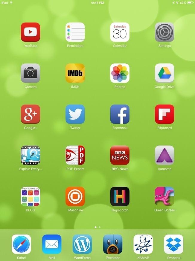 Teacher's iPad 2015