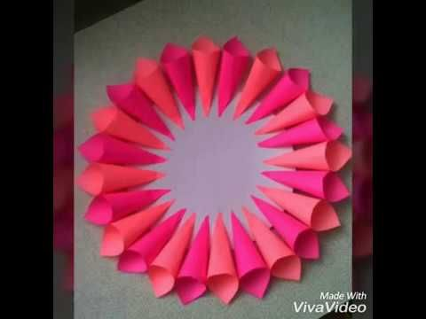 How to make Rainbow flower from sticky notes  YouTube is part of Paper flowers diy -