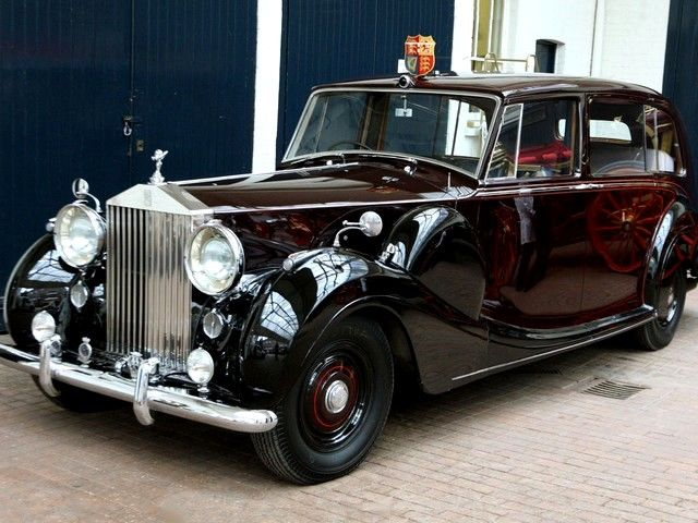 Royal Wedding 1950 Rolls Royce Phantom Iv At Mews