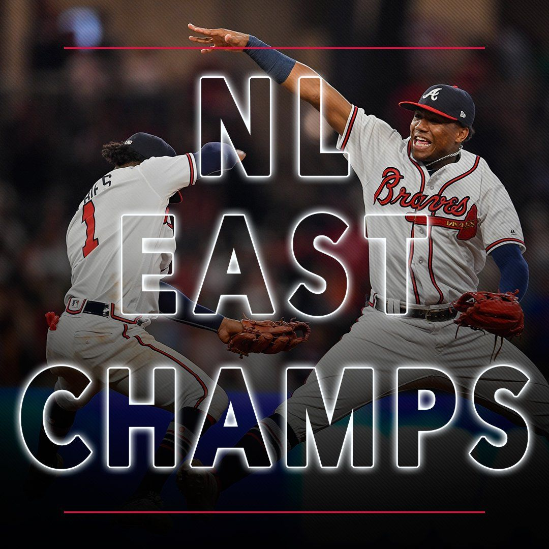 Atlanta Braves 2018 Division Champions Merchandise Caps Hats T Shirts Atlanta Braves