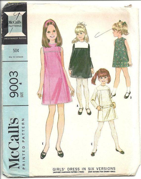 Vintage 60s Dress Jumper Sewing Pattern by VintageClothingDream ...