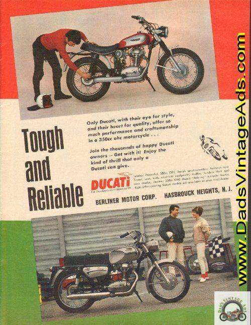 1968 Ducati 350 Sport Scrambler & Sebring turnpike tourer