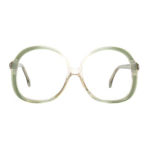 ff3f5a640d7 green vintage glasses frames - transparent vintage eyeglasses for ...