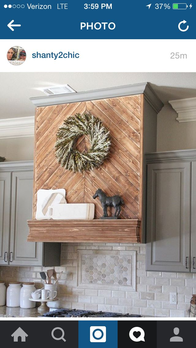 on the new build wooden vent hood kitchen vent hood kitchen vent on outdoor kitchen vent hood ideas id=55936