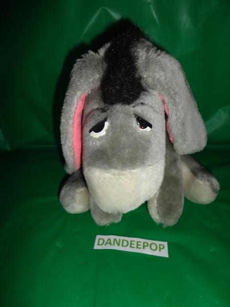 "Canasa Trading Corp. Walt Disney Eeyore Stuffed Animal Toy 9"" find me at www.dandeepop.com"