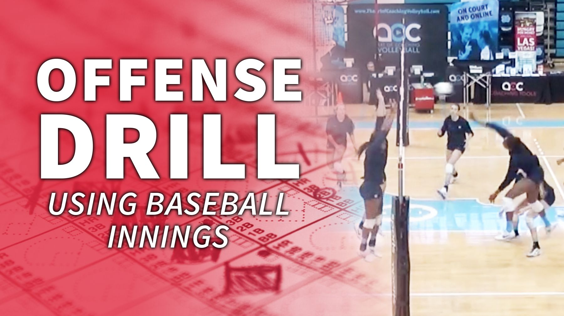 Offense Focused Drill Using Baseball Innings To Add Variety The Art Of Coaching Volleyball Baseball Coaching Volleyball Play Baseball